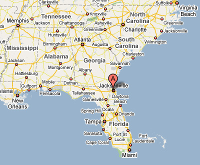Contact Us Hisco Pump South - Map of southeast us
